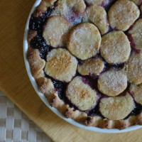 the in between: simplest jam tart