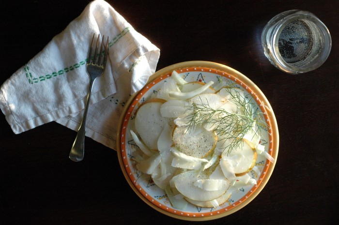 fennel pear salad_3