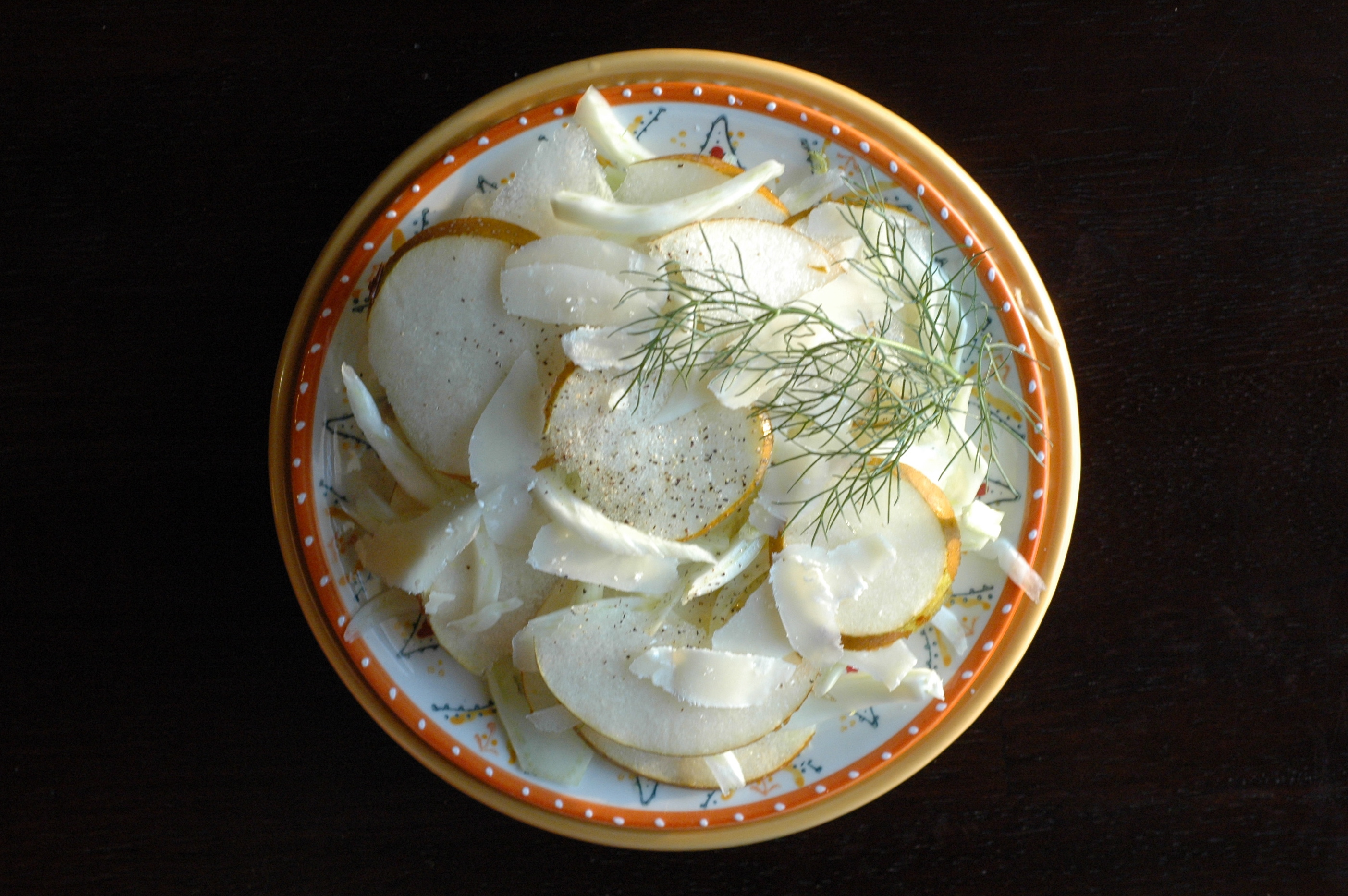 fennel pear salad_1a