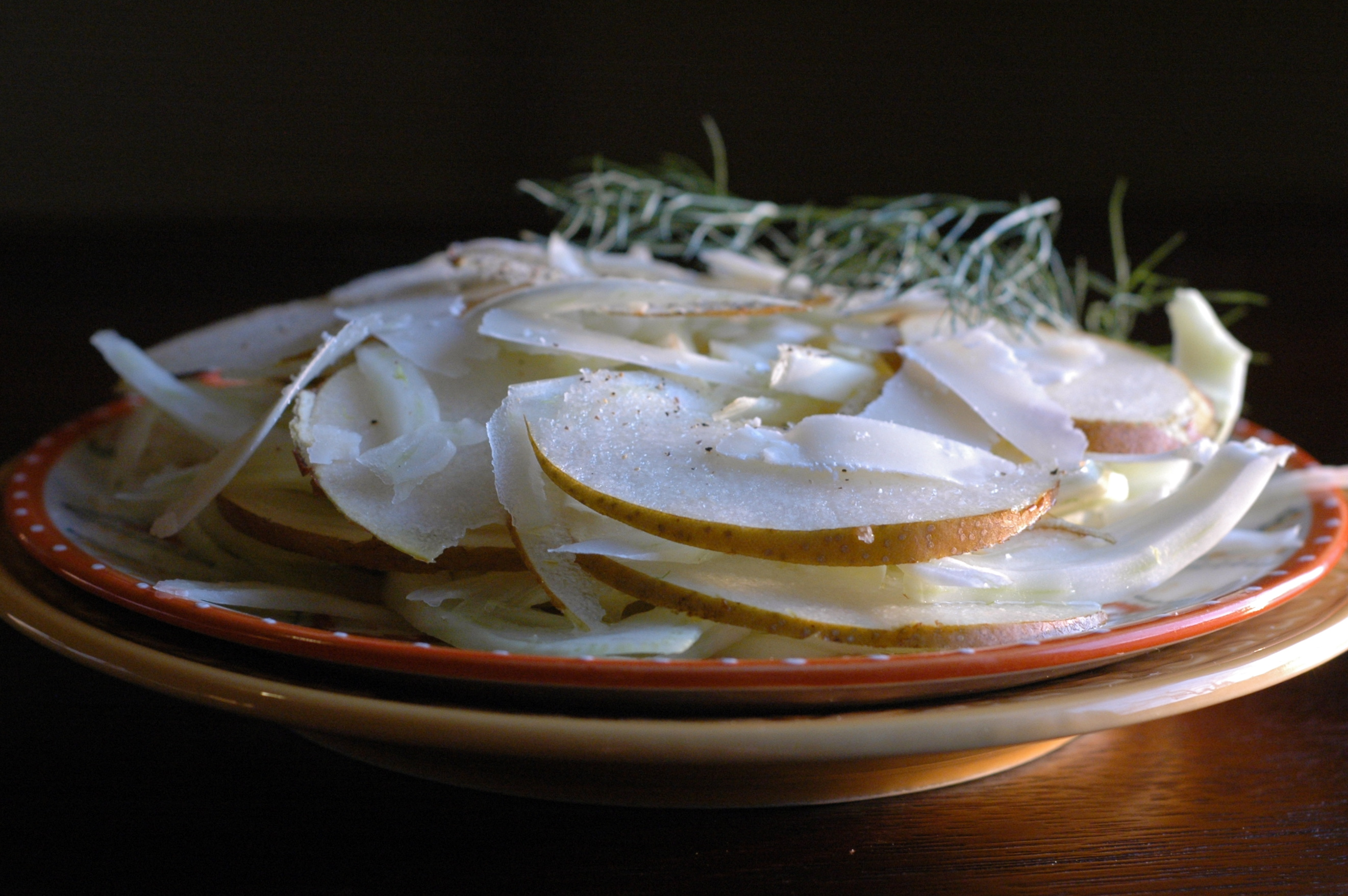 fennel pear salad_2