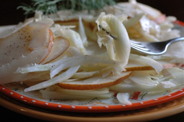 fennel pear salad_4