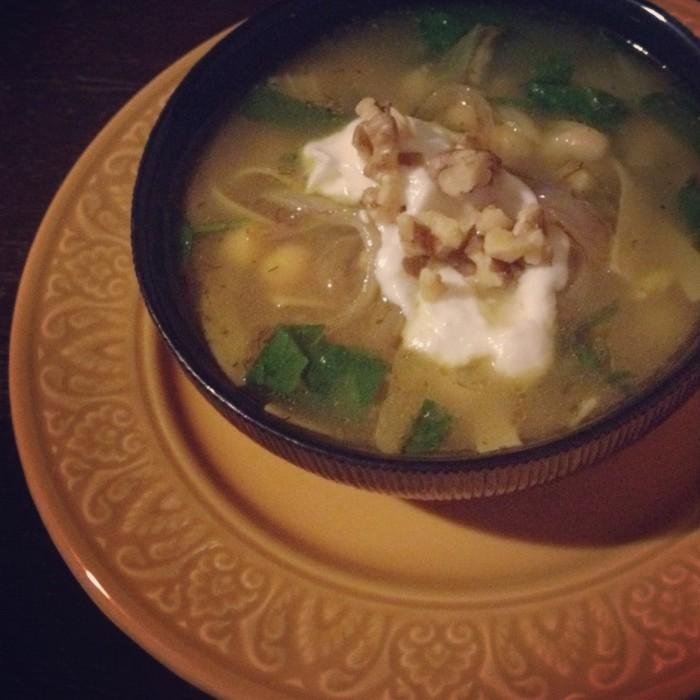 bean noodle soup