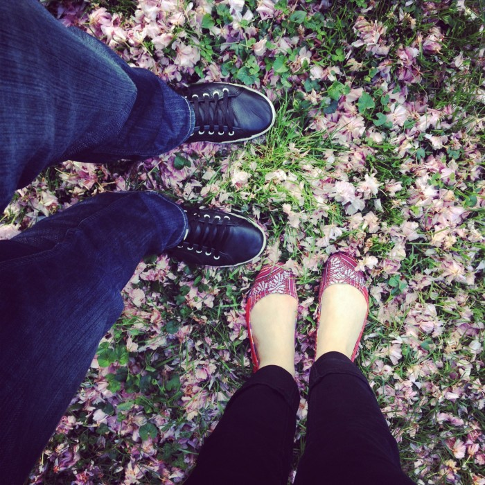 engaged feet