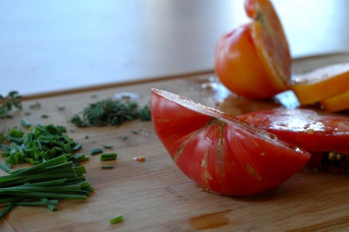 Tomatoes + Herbs