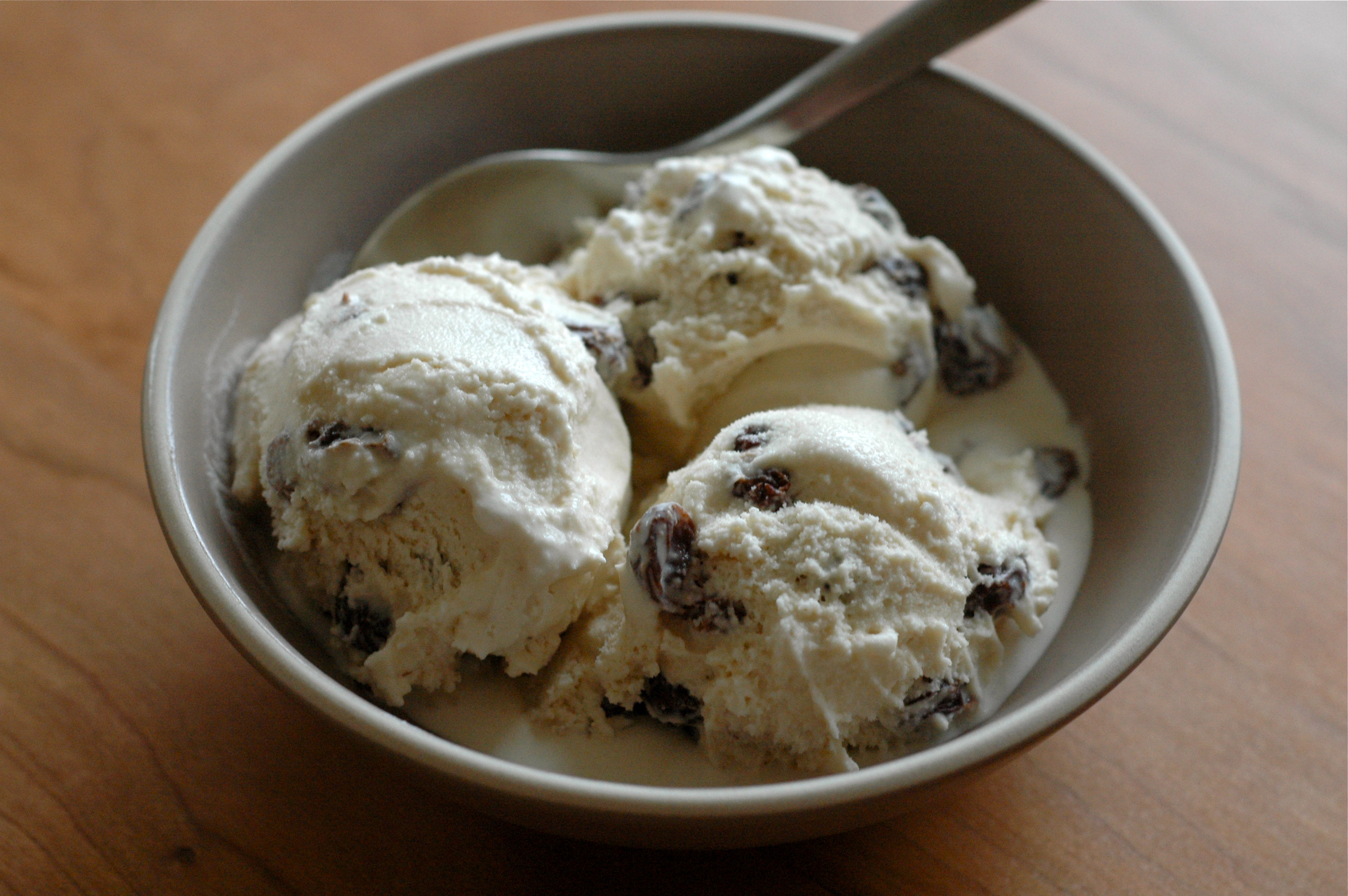 Rum Raisin Ice Cream | Delightful Crumb