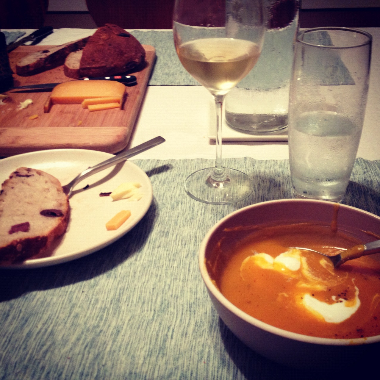 Squash Soup via Instagram