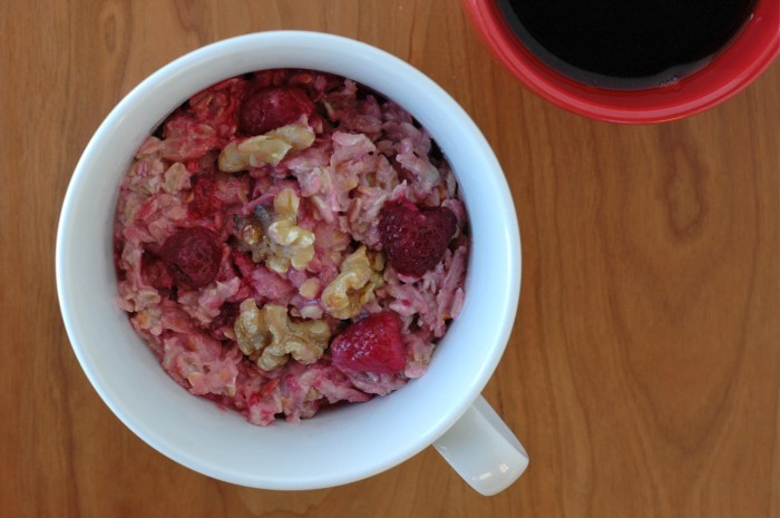 Raspberry-Orange Muesli