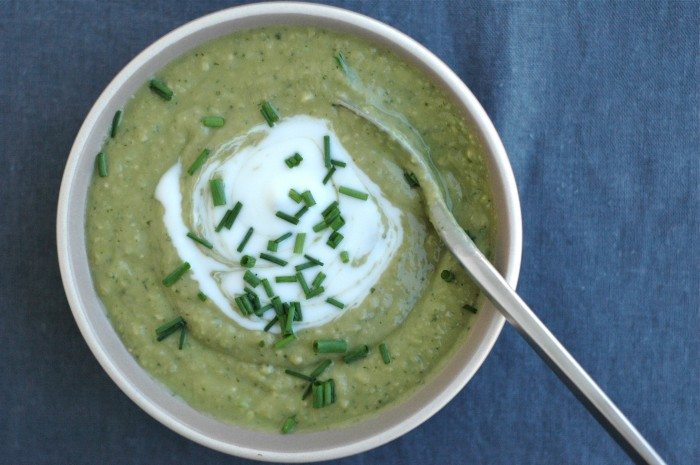 Creamy Chilled Green Soup