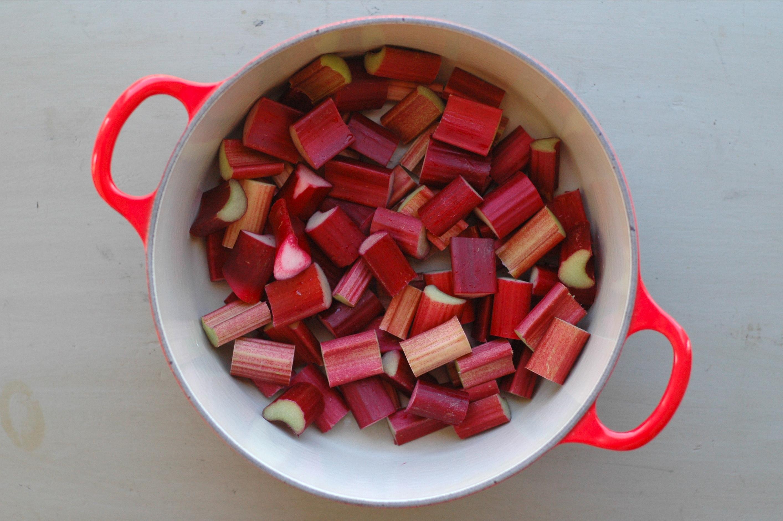 Roasted Rhubarb // Delightful Crumb