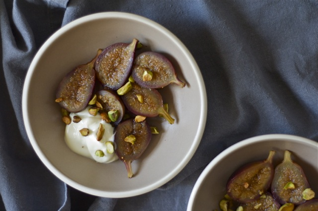 Honey-Lavender Poached Figs :: Delightful Crumb 2