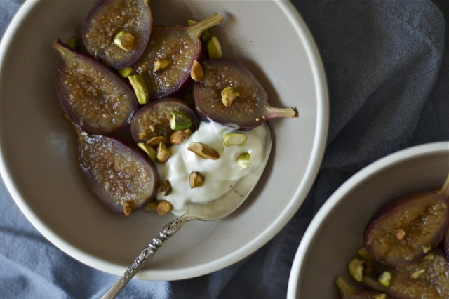 Honey-Lavender Poached Figs :: Delightful Crumb 3