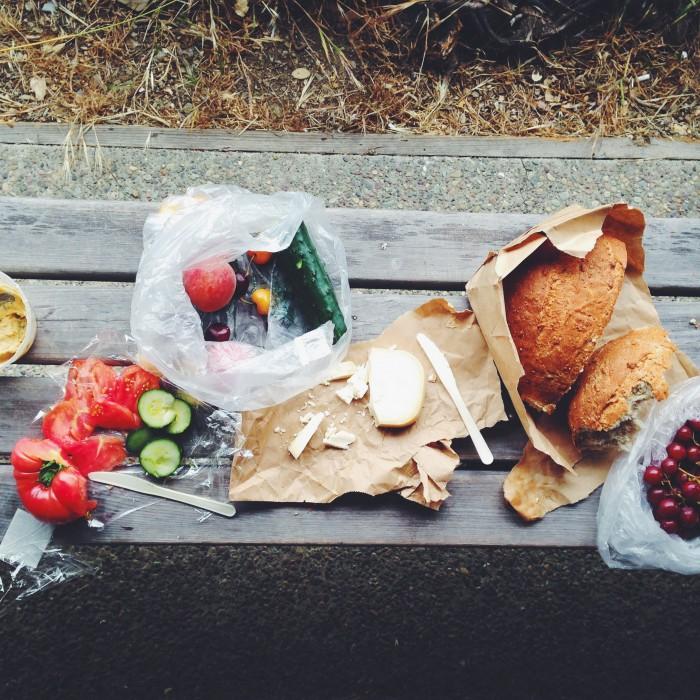 Rainy picnic | Delightful Crumb