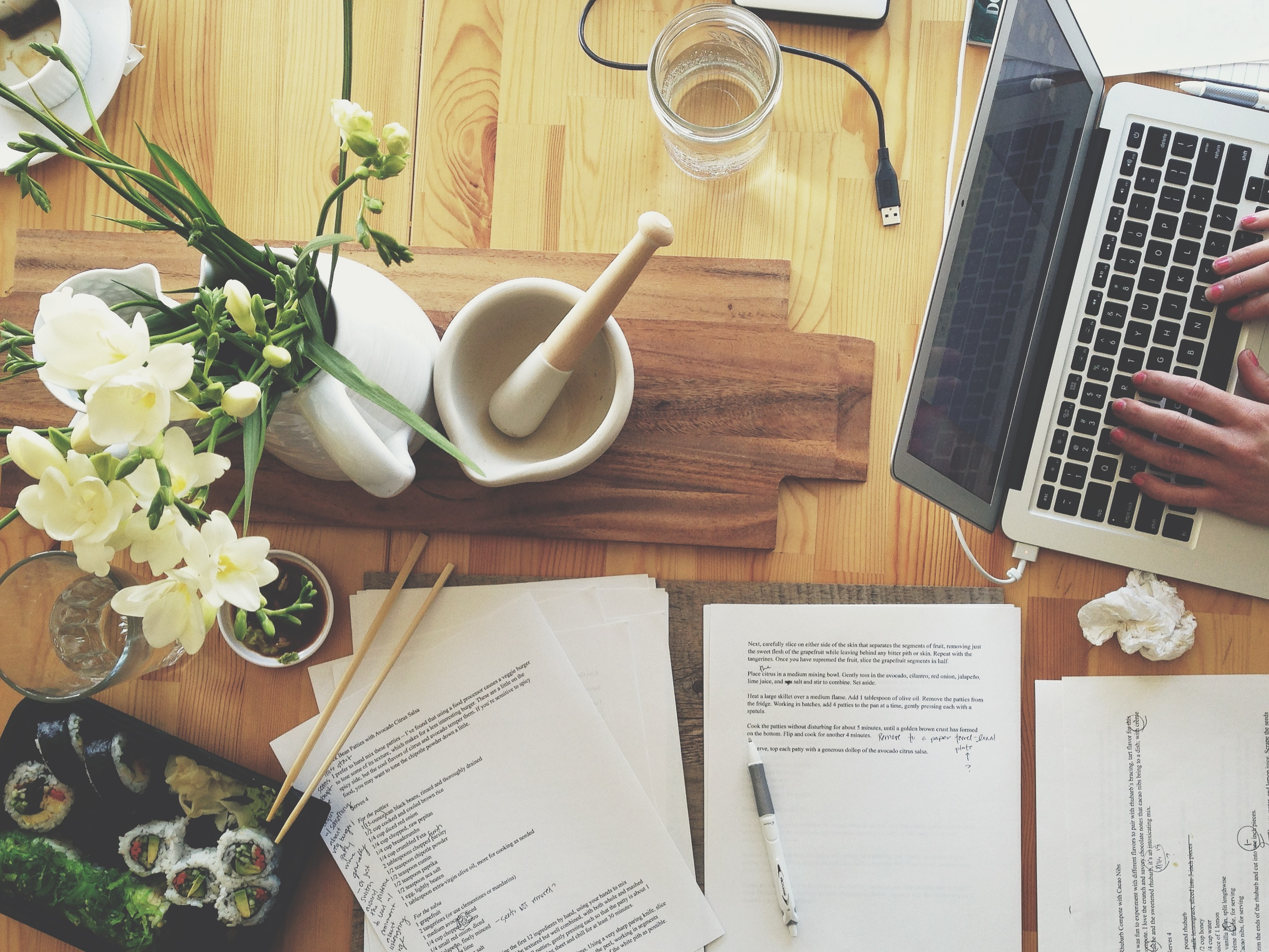 Manuscript editing | Delightful Crumb