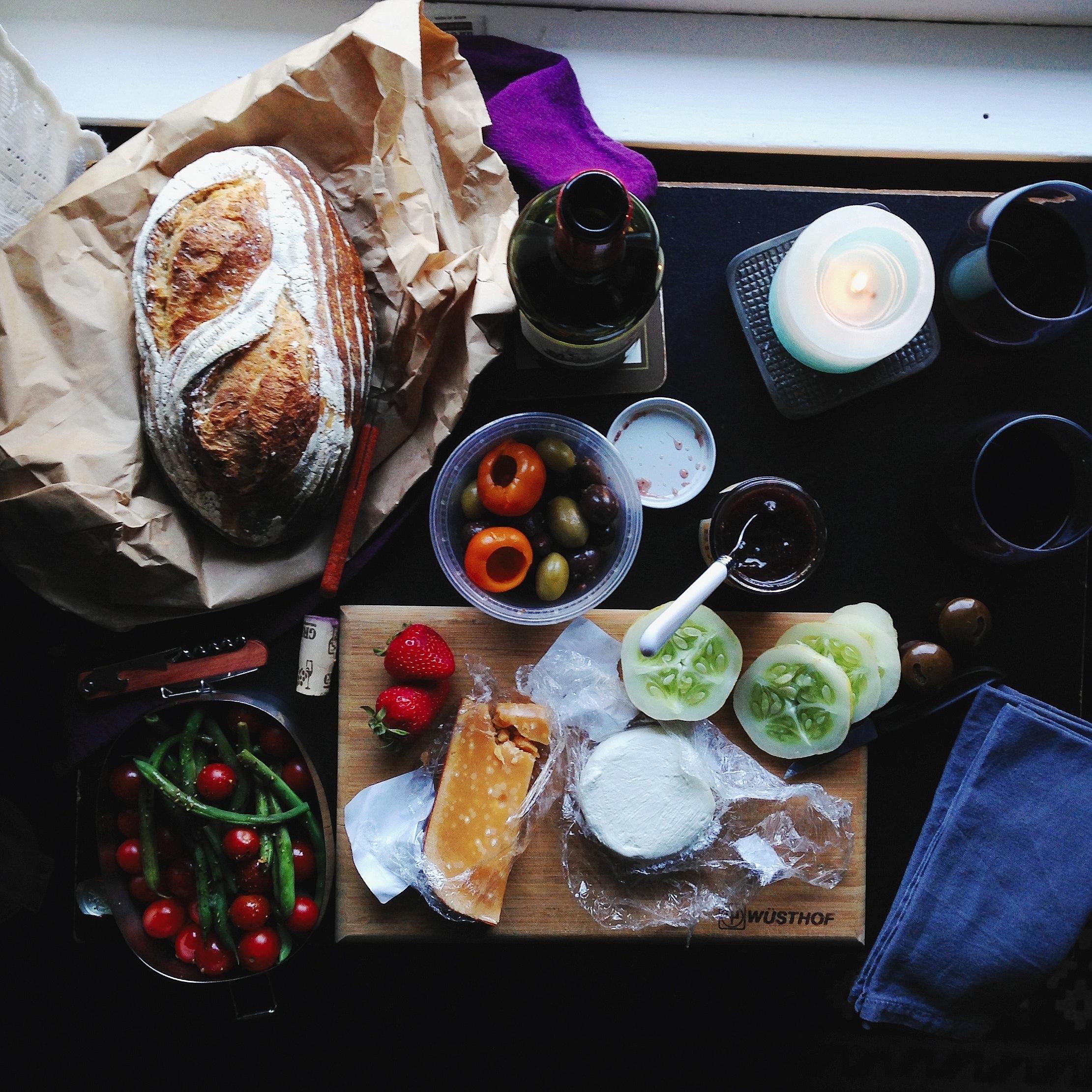 Indoor picnic | Delightful Crumb