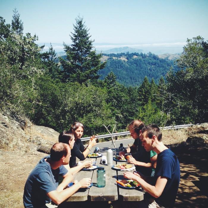 Muir Woods picnic | Delightful Crumb