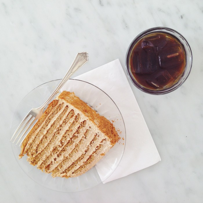 20th Century Cafe Honey Cake | Delightful Crumb