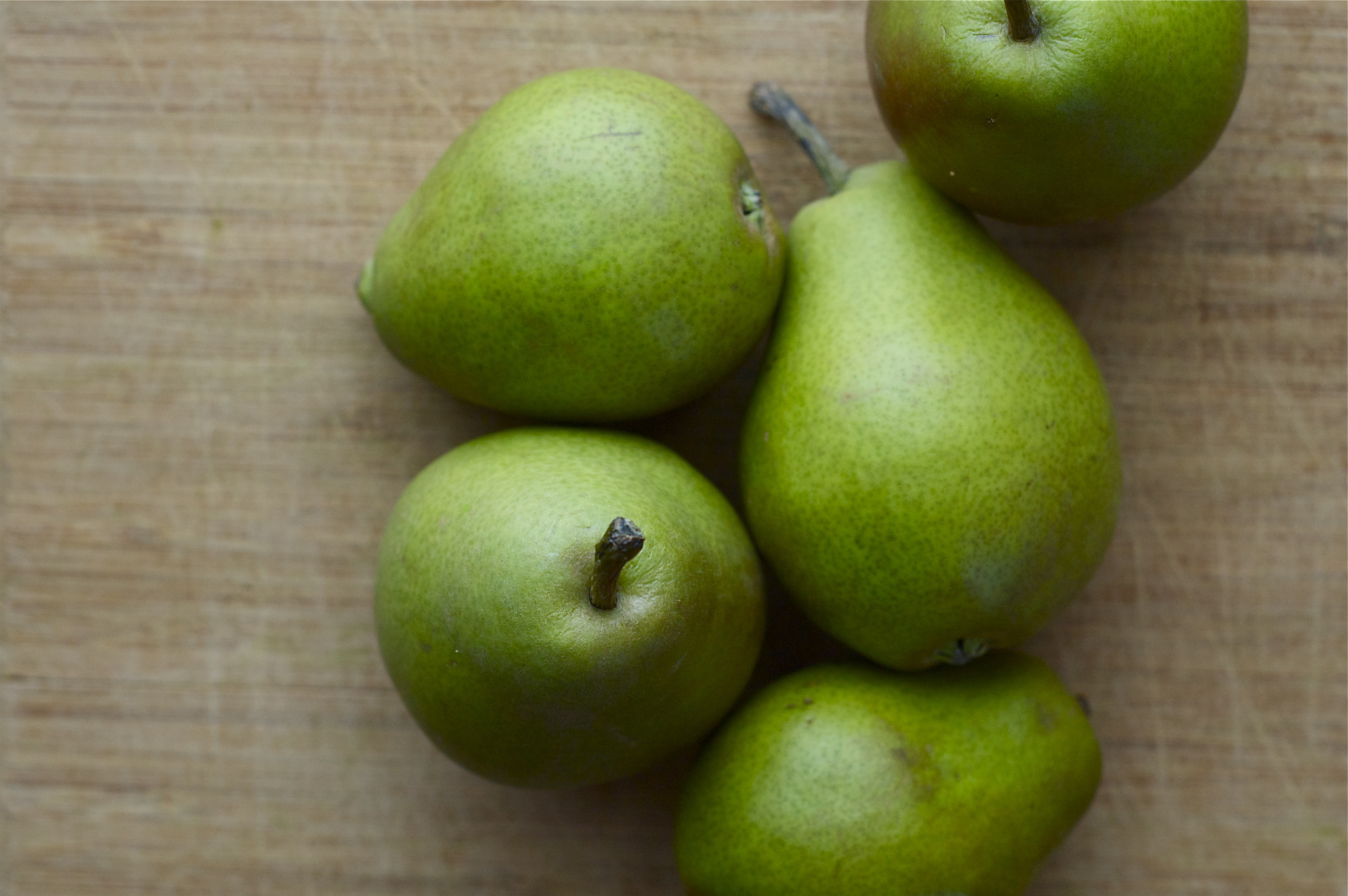Little pears | Delightful Crumb
