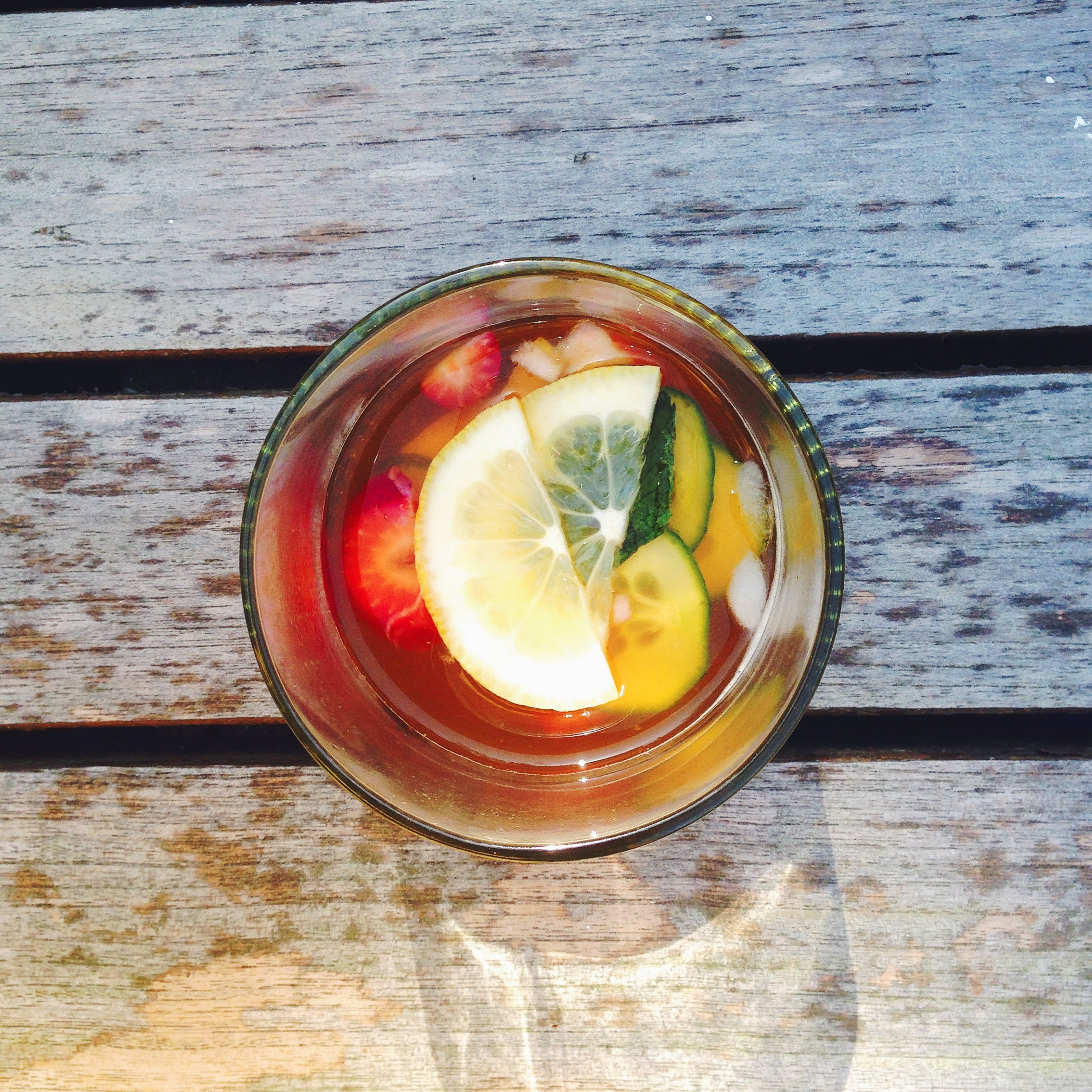 Pimm's Cup | Delightful Crumb
