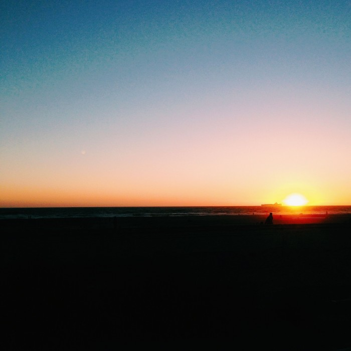 Ocean Beach sunset | Delightful Crumb