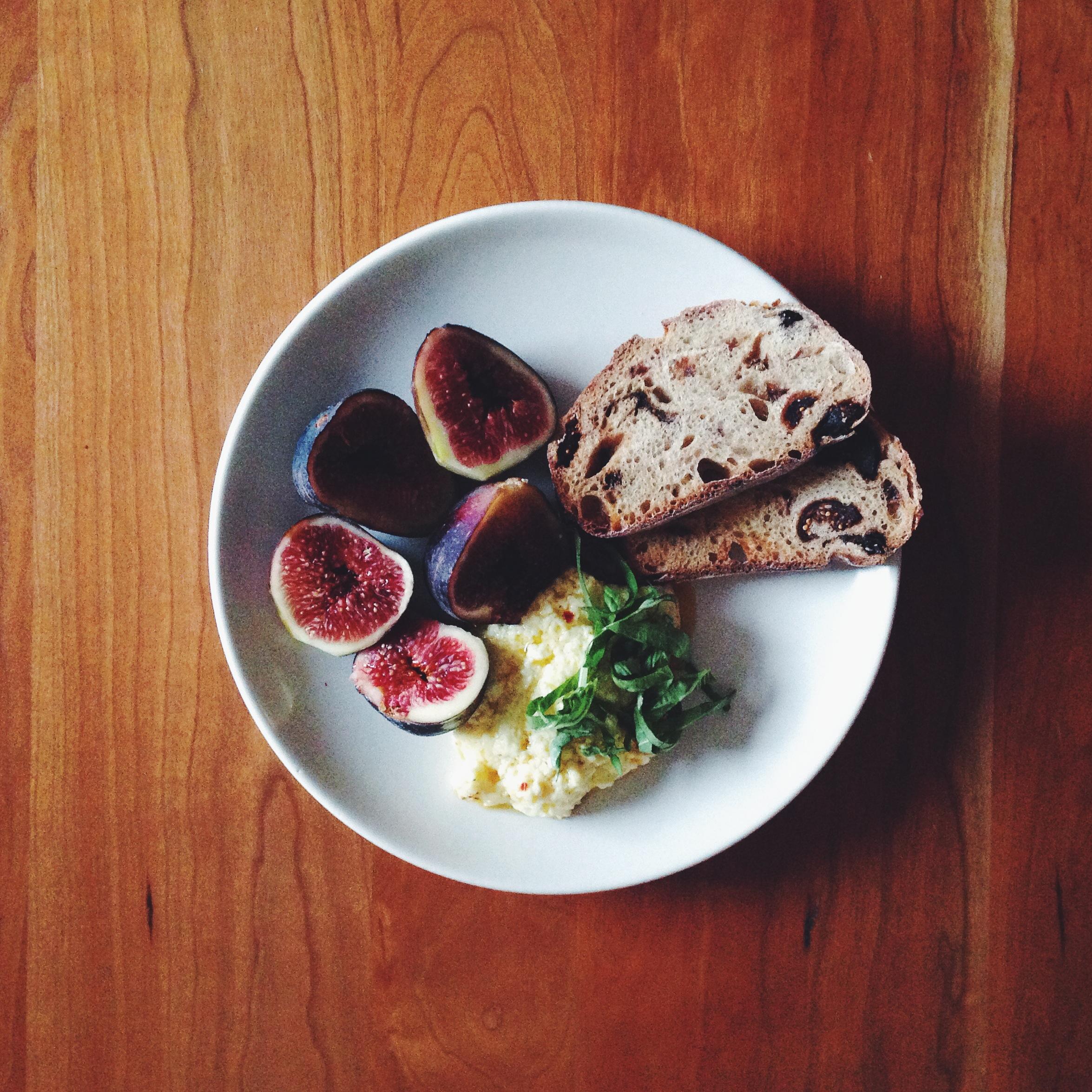 Baked Feta & Figs   Delightful Crumb