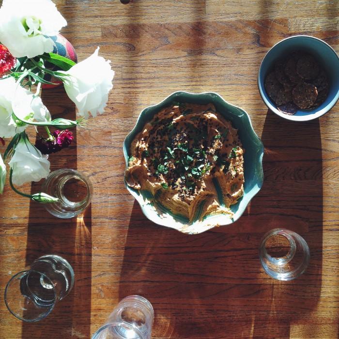 Butternut Squash & Tahini Spread | Delightful Crumb