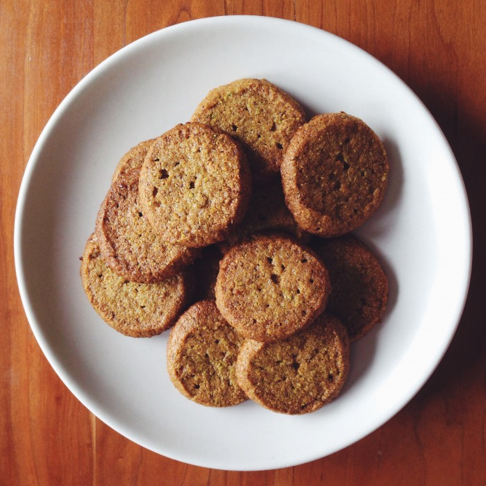 Pistachio Tangerine Sugar Cookies | Delightful Crumb