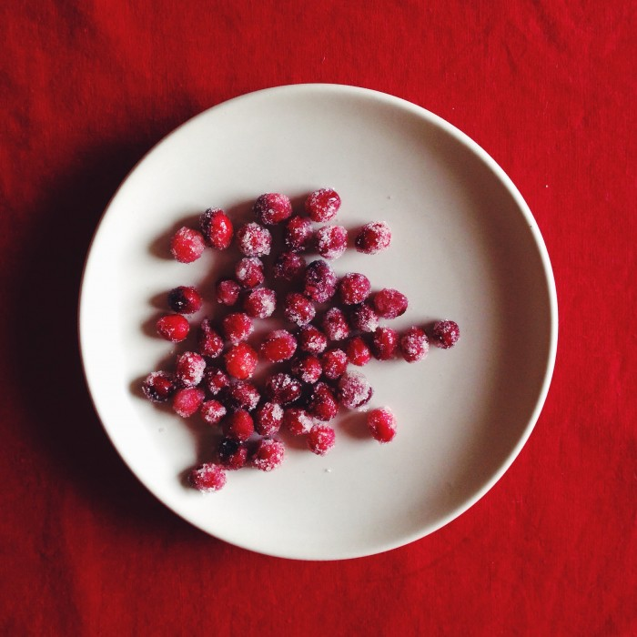 Sparkling Cranberries | Delightful Crumb