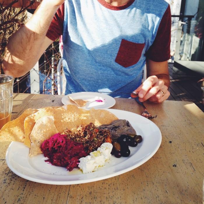 SHED mezze plate | Delightful Crumb