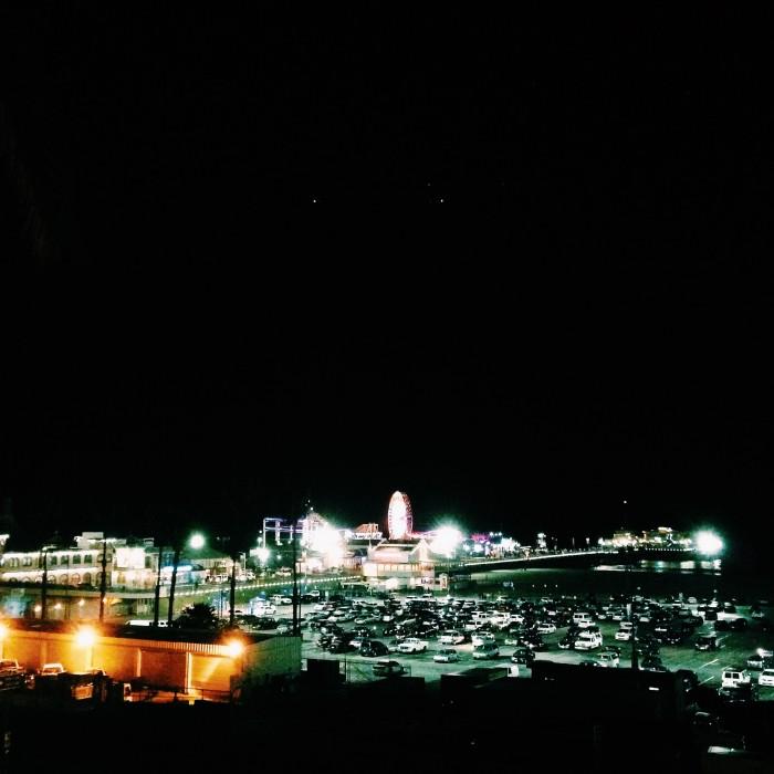 Santa Monica pier | Delightful Crumb