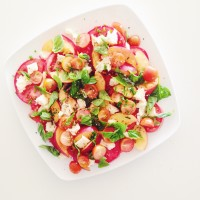 Sentimental Summer Days | Tomato & Nectarine Salad