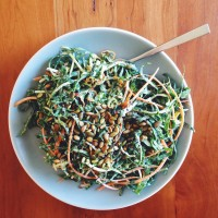 The Season of Kale with Tahini (Among Other Things)