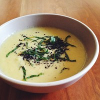 Summer into fall, with Sweet Corn Soup