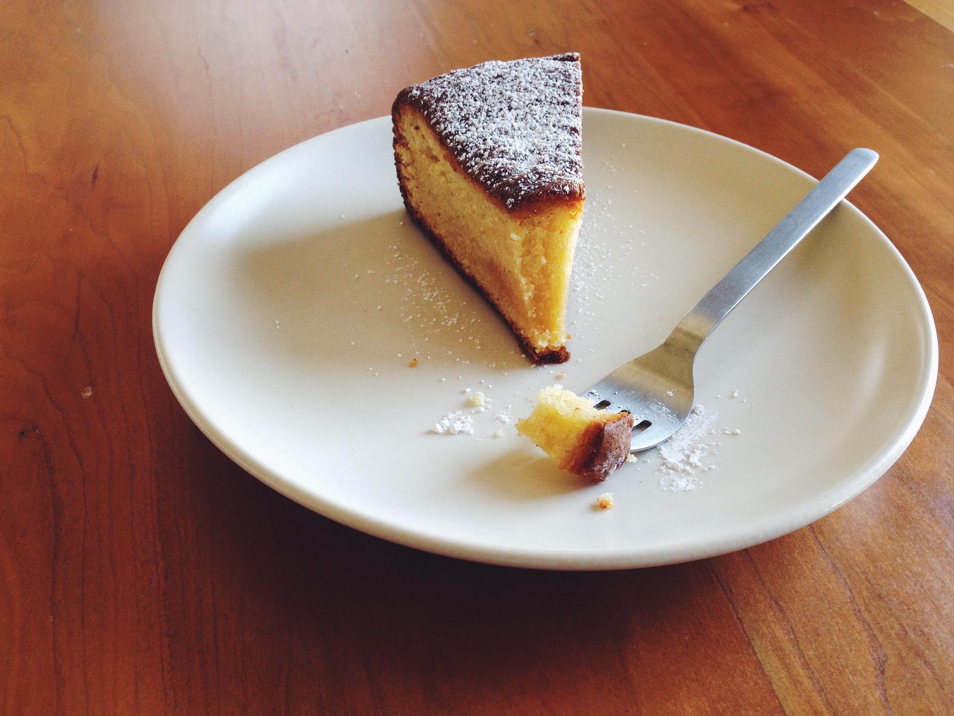 Café Almond Cake | Delightful Crumb