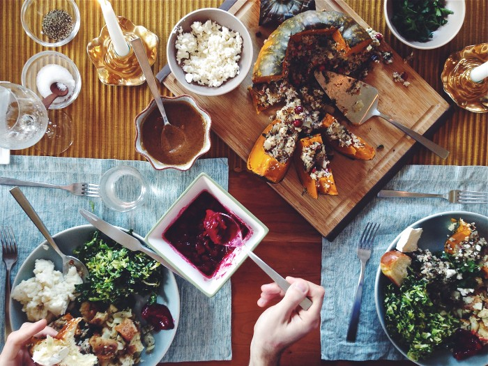 Thanksgiving Feast | Delightful Crumb