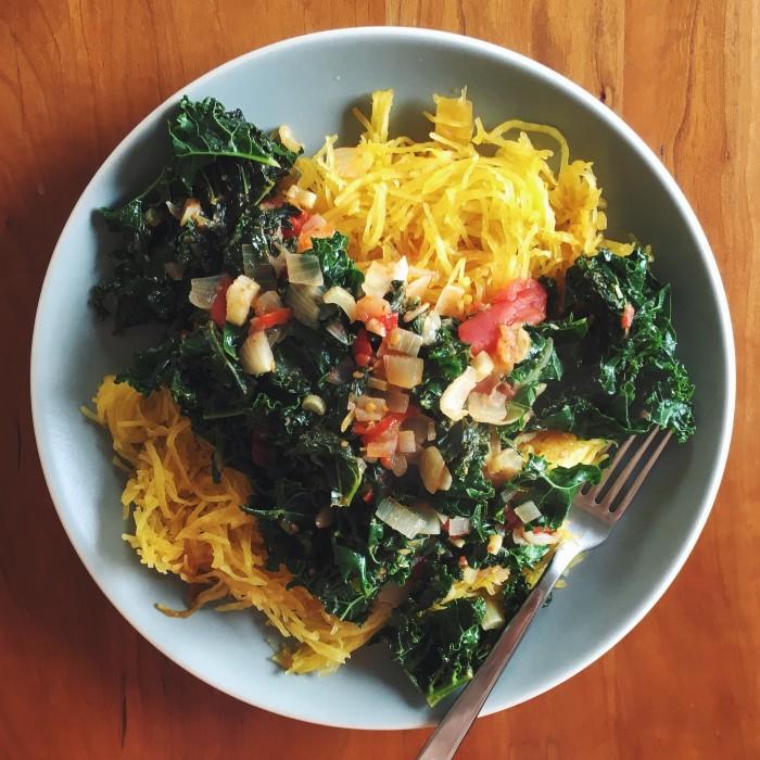Spaghetti Squash | Delightful Crumb