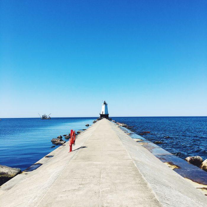 Ludington pier | Delightful Crumb