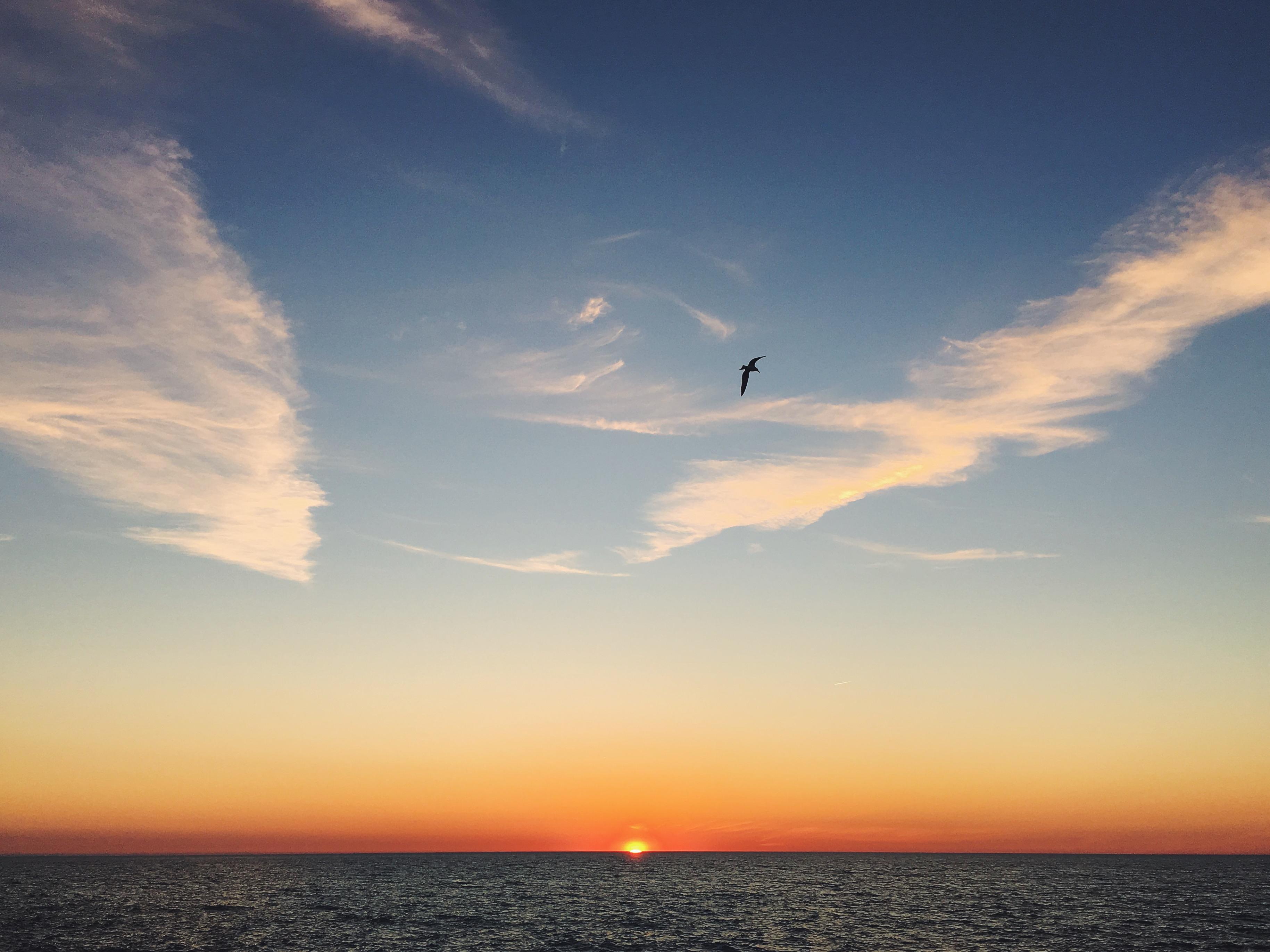 Lake Michigan sunset | Delightful Crumb