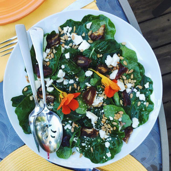 Nasturtium Salad | Delightful Crumb
