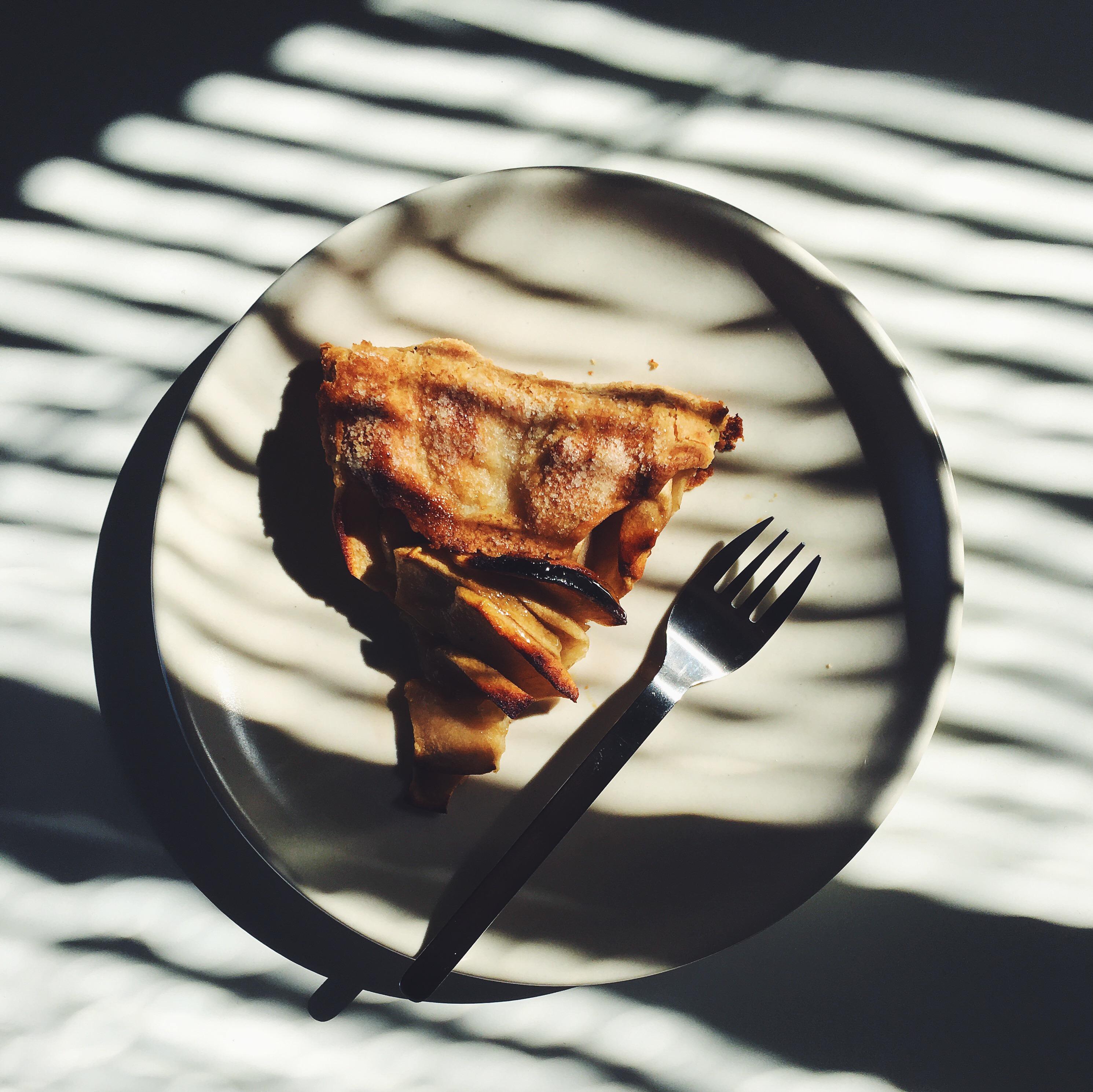 Apple Galette | Delightful Crumb