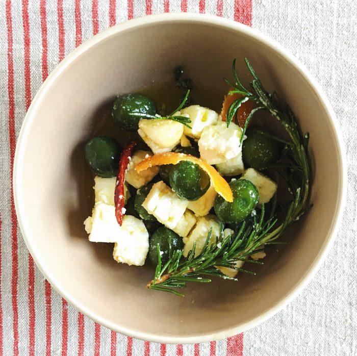Marinated Olives & Feta | Delightful Crumb