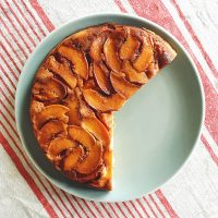 Howl to the Moon | Peach Upside-Down Cake