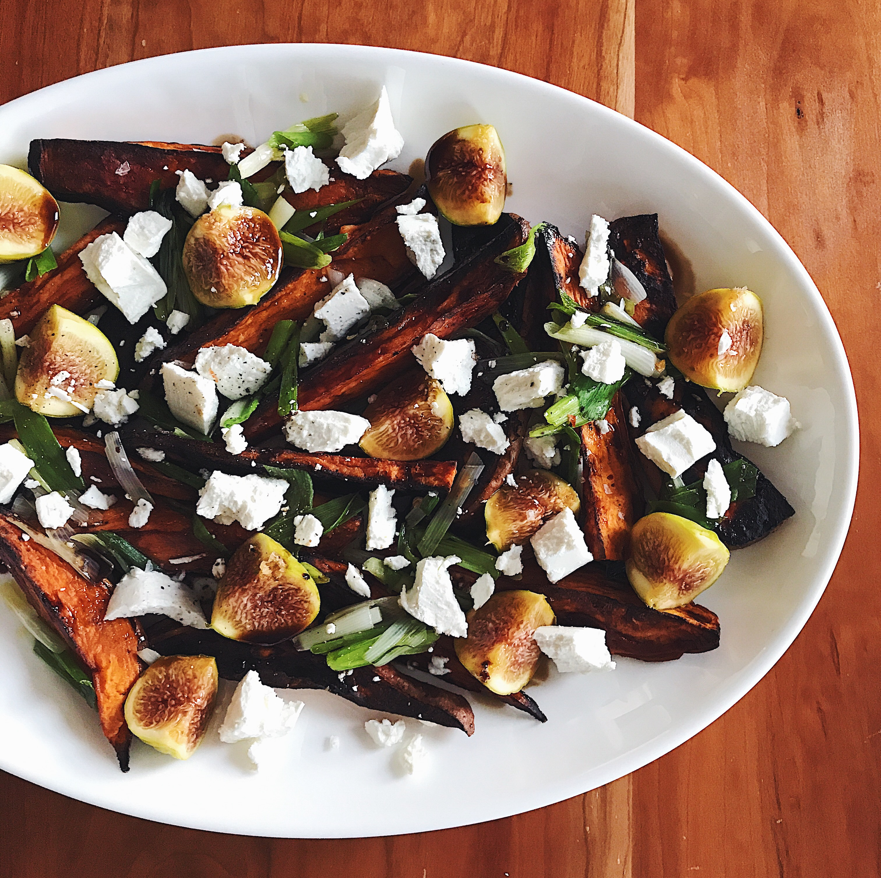Sweet Potatoes & Figs | Delightful Crumb