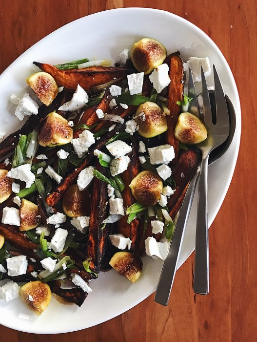 Sweet Potatoes & Figs | Delightful Crumb