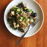 The Greatest, Smallest Thing | Cauliflower, Grape & Cheddar Salad