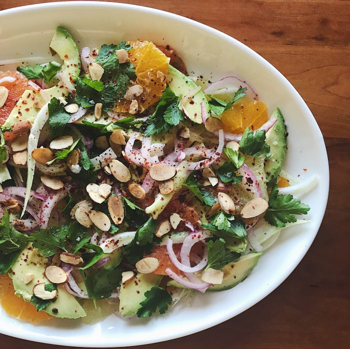 Avocado Citrus Salad | Delightful Crumb