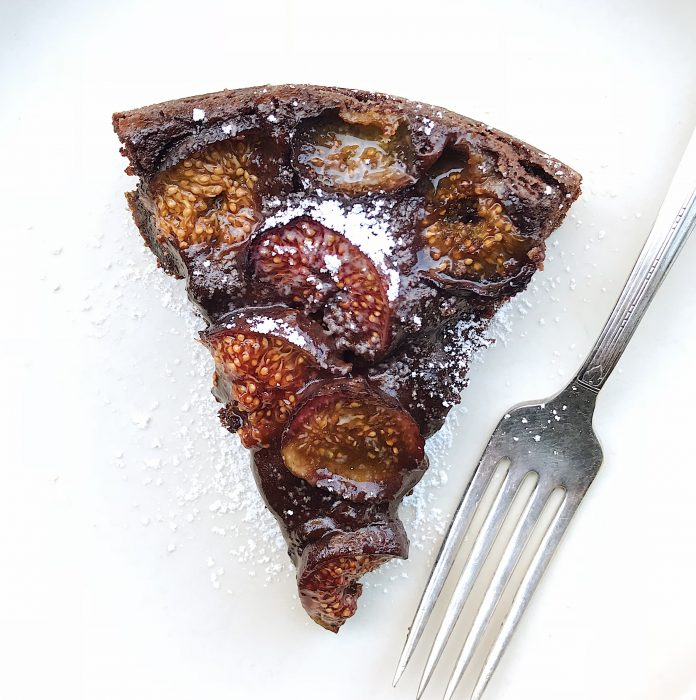 Chocolate Fig Cake | Delightful Crumb
