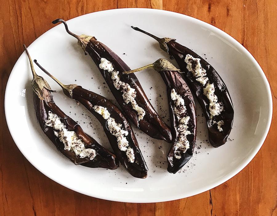 Roast Eggplants | Delightful Crumb