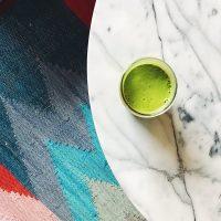 Balance & A Good Green Smoothie