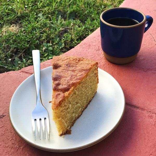 Almond Rye Cake