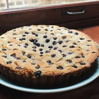 Hello, Discomfort! | Blueberry Almond Cake